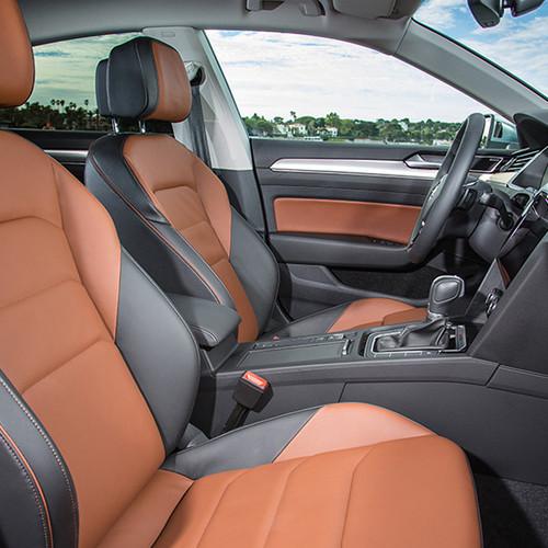 VW Arteon, Innenansicht, Cockpit, seitlich