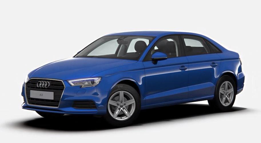 Die Audi A3 Limousine - schlicht und funktional auf längere Distanzen ausgelegt.