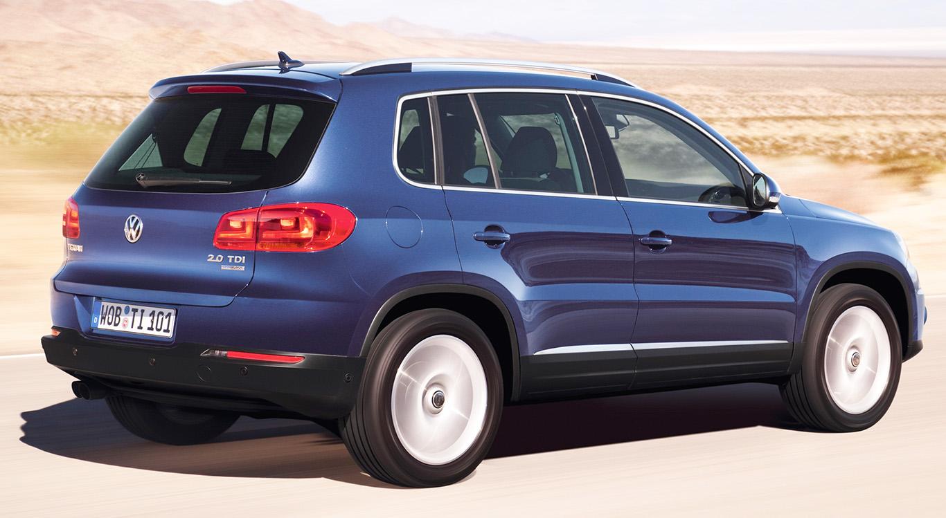 VW Tiguan Facelift (ab 2011): Dieses Modell ist außen und innen moderner, einige Assistenzsysteme versüßen den Fahralltag.