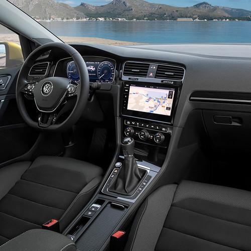 VW Golf Facelift 2017 Cockpit discover pro gestensteuerung