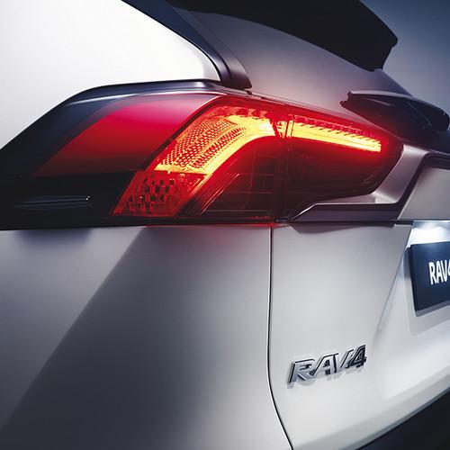 Toyota RAV4 2019, Heckansicht