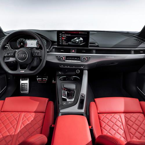 Audi A4 Avant, Facelift 2019, Cockpit, Innenraum