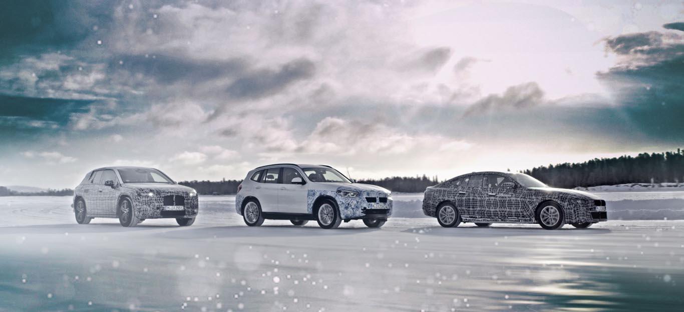 BMWs E-Autos: In der Mitte der iX3