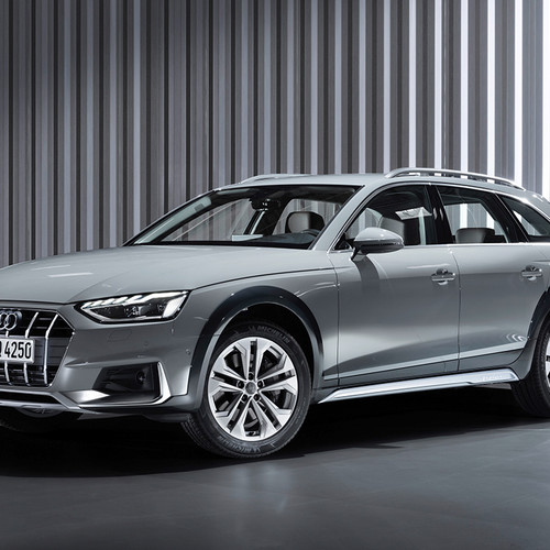 Audi A4 Allroad, Facelift 2019, Frontansicht