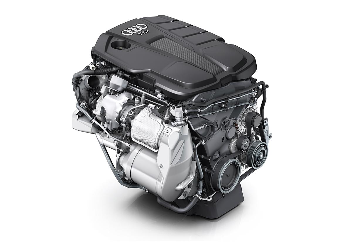 Vorher ein Sorgenkind, nun aber gegen jedes Fahrverbot gefeit: Der 190 PS starke 2.0 TDI erfüllt seit August 2018 die Abgasnorm 6d-Temp. Der Antrieb hat auch eine neue Bezeichnung erhalten: Der  Audi Q5 40 TDI.