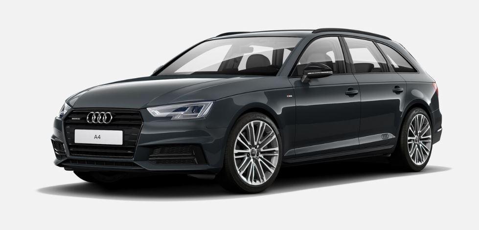 Äußerst exklusiv, aber auch ziemlich teuer: Das Audi S line black-Exterieur am A4 Avant.