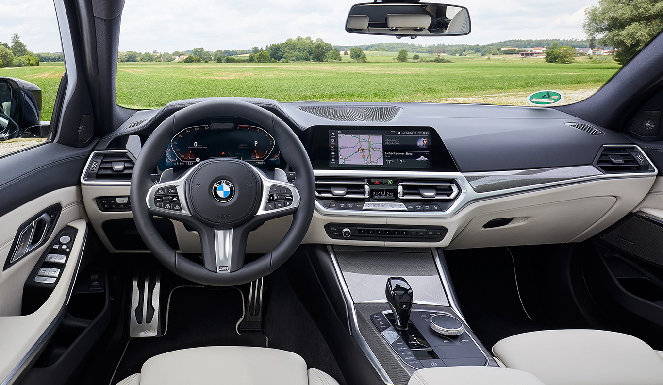 Der BMW 3er Touring 2019 ist auch innen ein Schmuckstück.