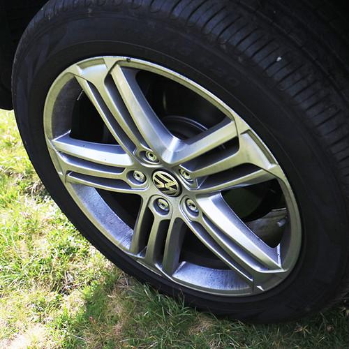 Felge des VW Touareg