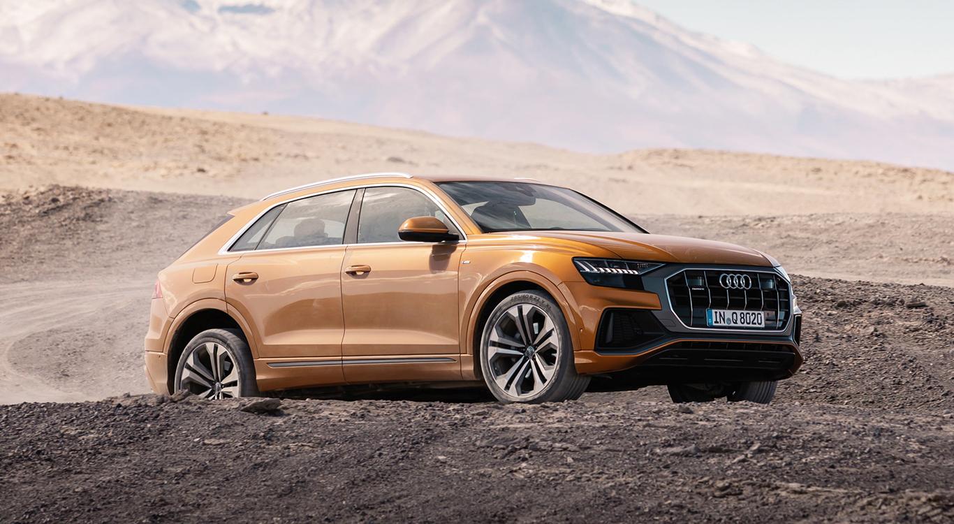 Audi hatte den Trend SUV-Coupé lange Zeit verschlafen. Seit Sommer 2018 erweitert mit dem Q8 ein deutscher Vertreter diese Gattung.