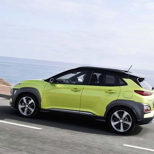 Hyundai Kona Seitenansicht