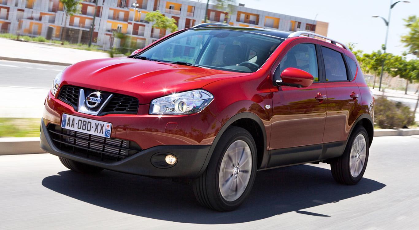 Im Jahr 2010 erhielt der Bestseller Nissan Qashqai ein Facelift mit schickerer Front.