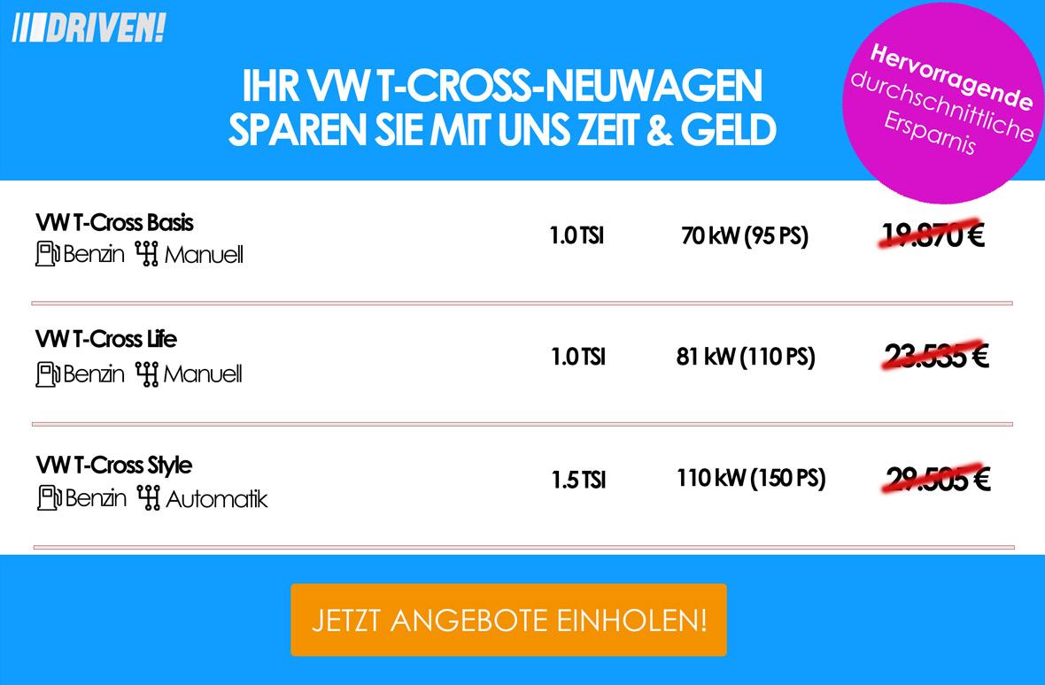 Werbung VW T-Cross VW SUV