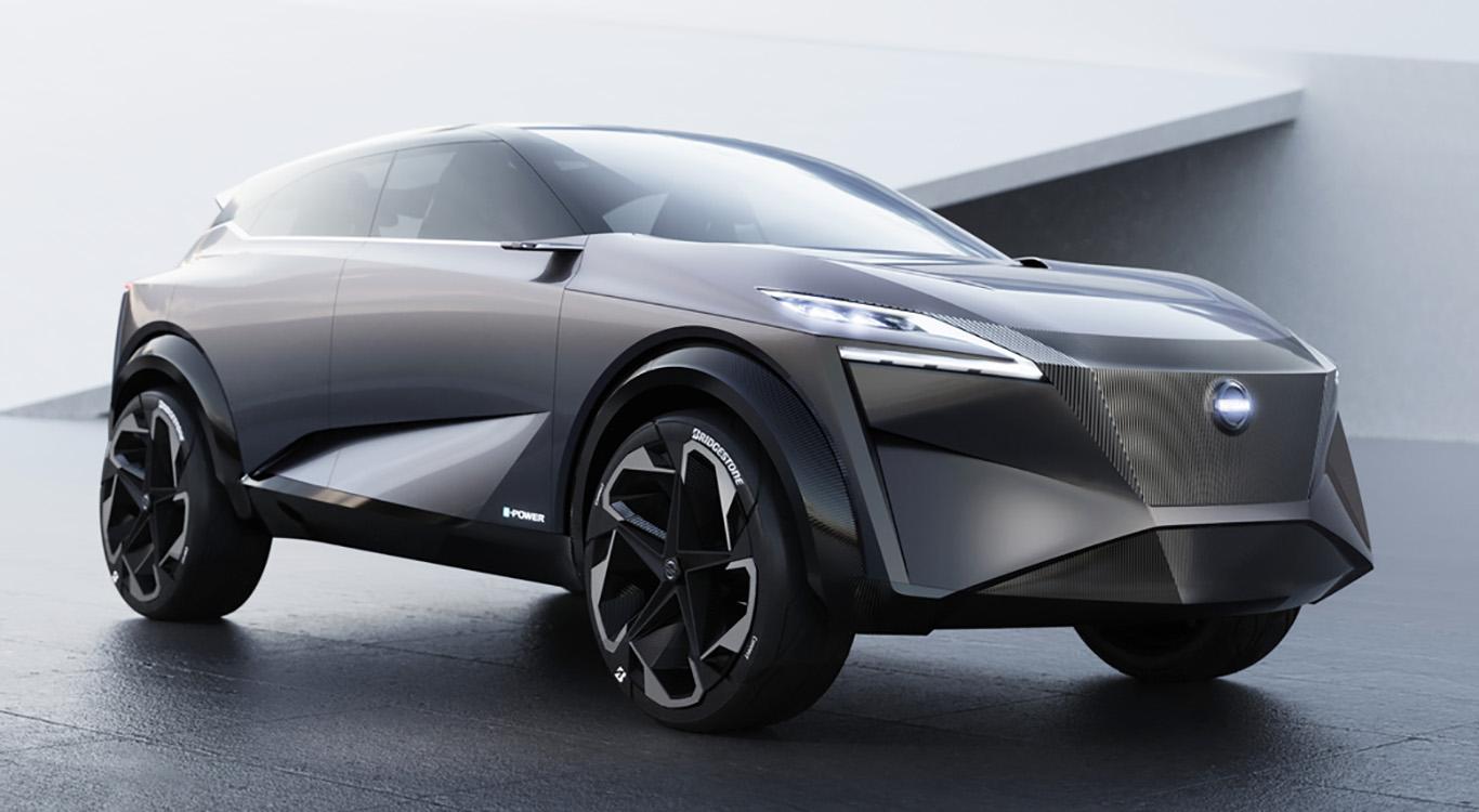 Auf dem Genfer Autosalon präsentierte Nissan die futuristische Studie IMQ.