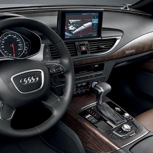 Der Innenraum eines Audi A7 Sportback.