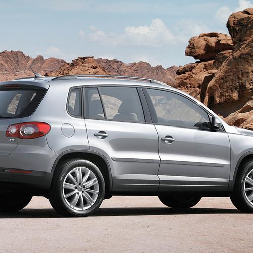 VW Tiguan I, Pre-Facelift, Heckansicht