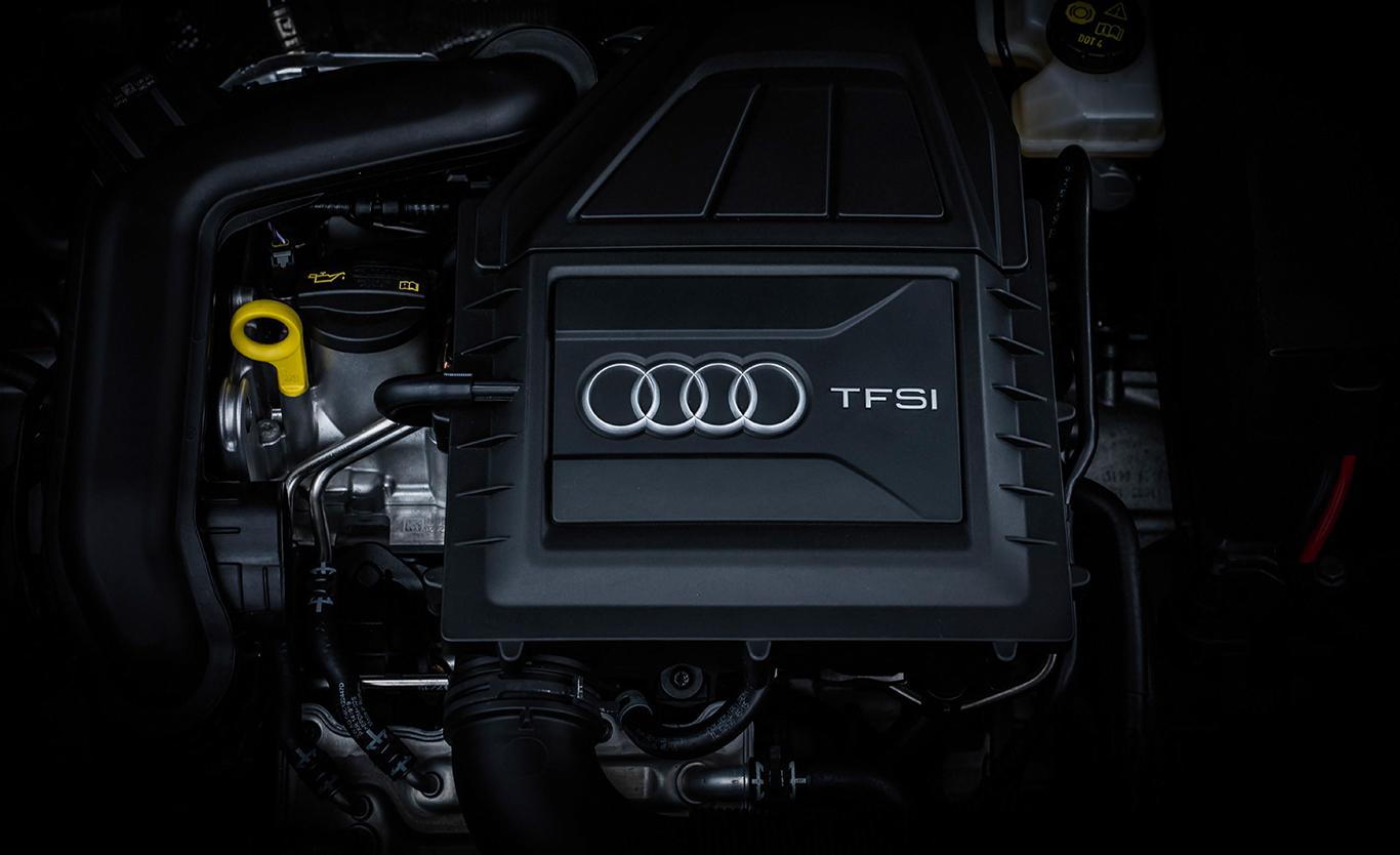 Kraft unter der Haube: der Audi A3 Sportback 40 TFSI quattro mit seinen 190 PS.