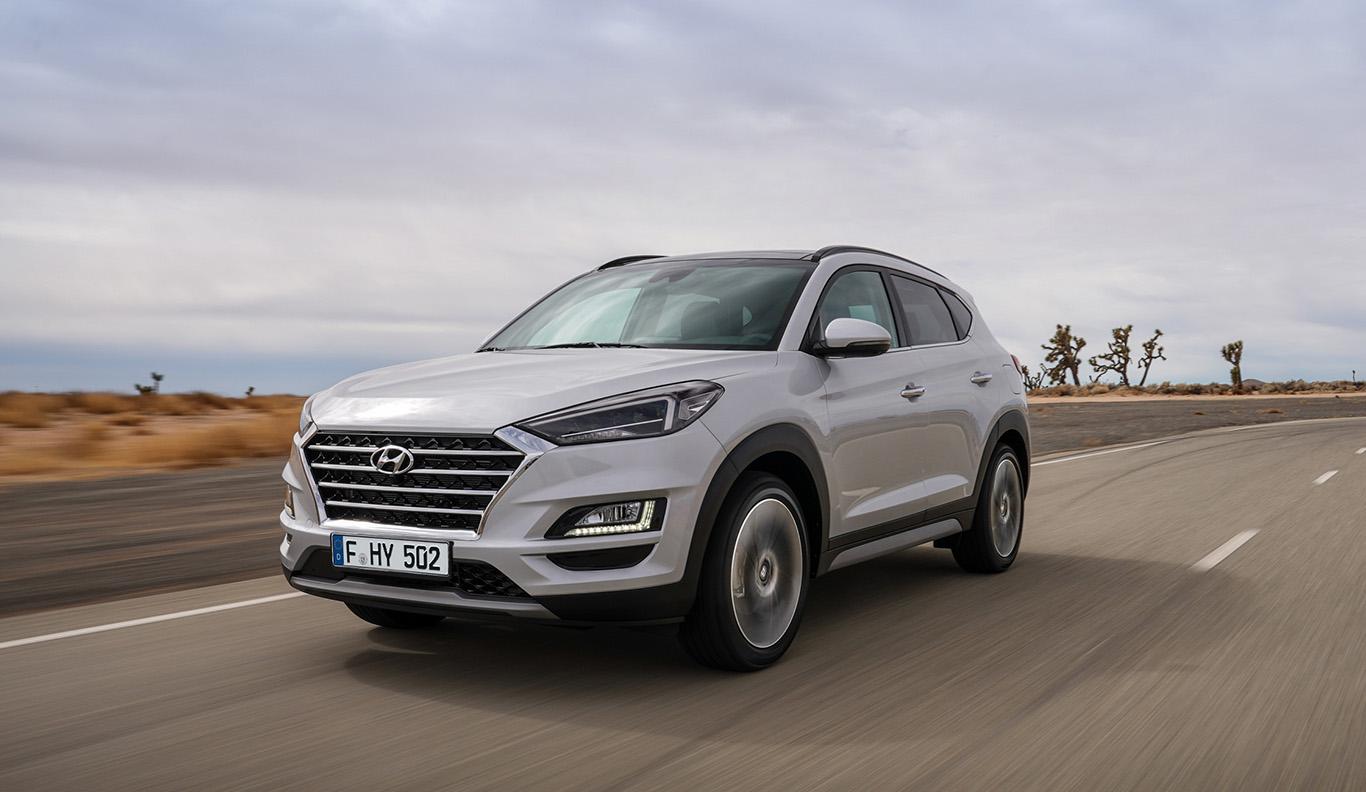 Kommt im Sommer 2018 auf uns zu: Das aufgefrischte Facelift-Modell des Hyundai Tucson.