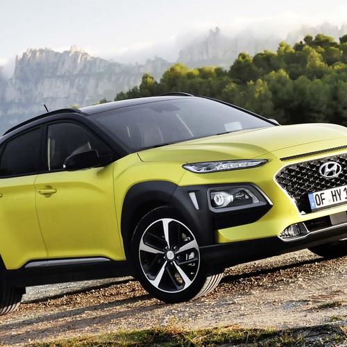 Hyundai Kona Frontansicht