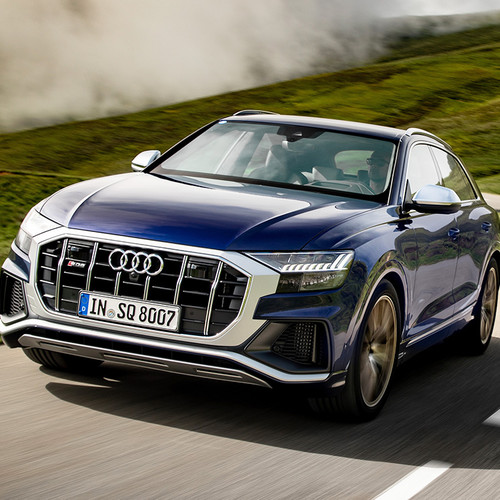 Audi SQ8 2019, Frontansicht