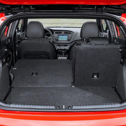 Hyundai i20, Facelift 2018, rot, Kofferraum
