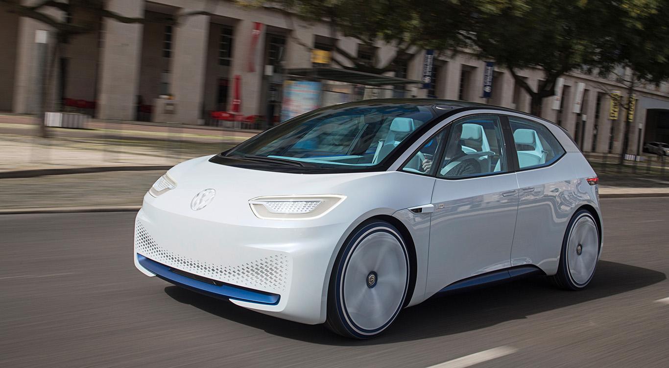 """2019 wird er für den e-Golf übernehmen: Das bislang als """"VW I.D."""" bekannte Modell folgt ab Mitte kommenden Jahres unter dem Seriennamen """"VW NEO"""" dem bisherigen Golf-Stromer."""