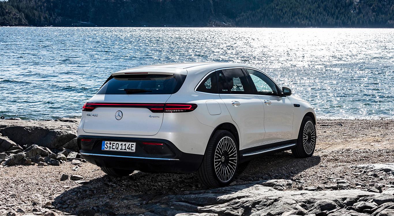 """Der Mercedes EQC ist das Stromer-Pendant zum Mittelklasse-SUV GLC. Die Bezeichnung """"EQ"""" steht für """"Electric Intelligence""""."""