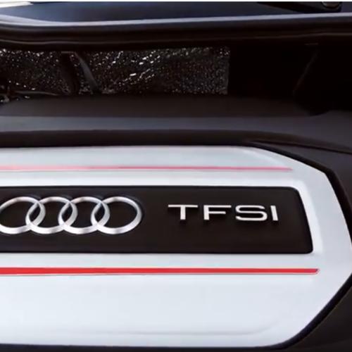 Der Motor des Audi S1