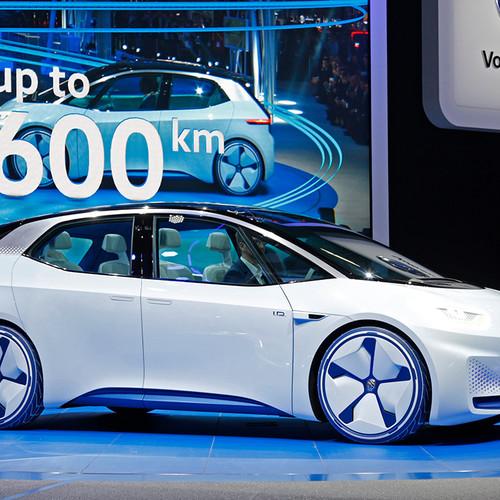 VW-Elektroauto, Studie ID NEO, Premiere, Seitenansicht