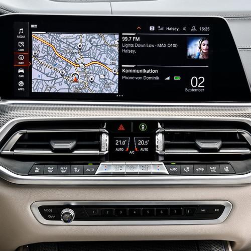 BMW X5 2018, Navigationssystem, Karte