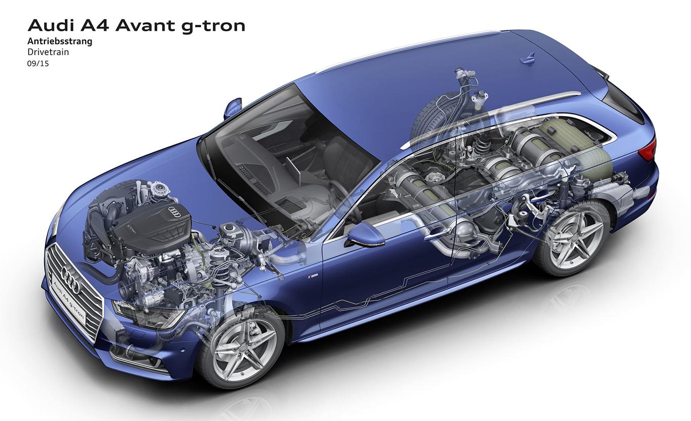 Audi A4 Avant g-tron.