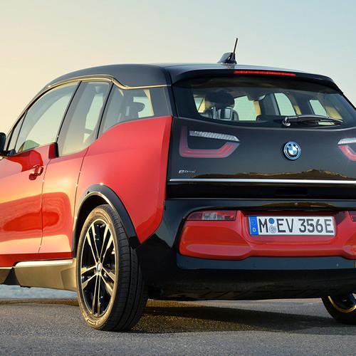 BMW i3 s 2018 Heckansicht