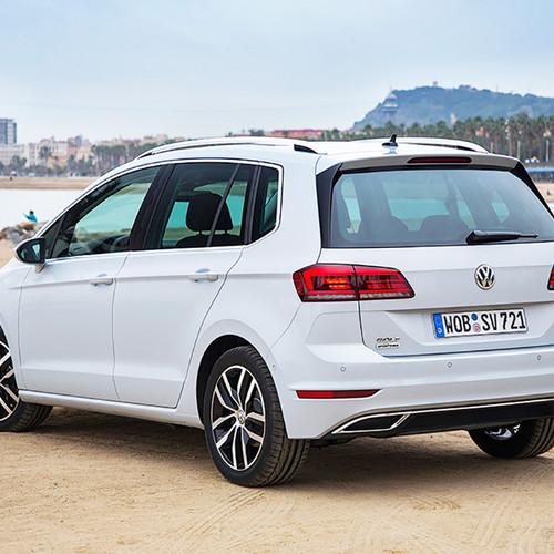 VW Golf Sportsvan 2018 Facelift Heckansicht