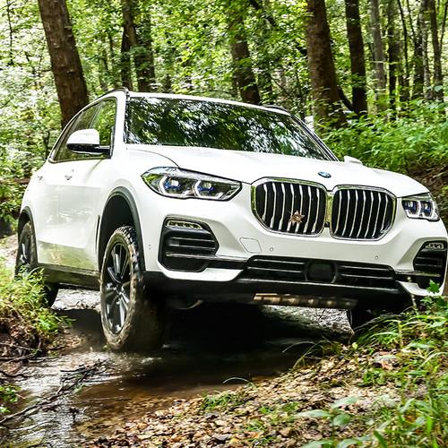 BMW X5 2019, weiß, Frontansicht