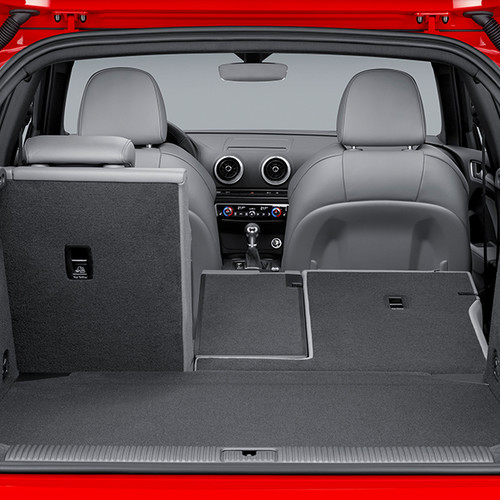 Audi A3 Sportback, Innenansicht, Kofferraum