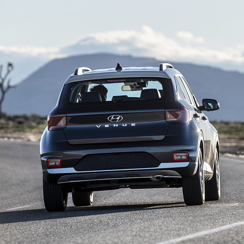 Hyundai-SUV Venue, Heckansicht