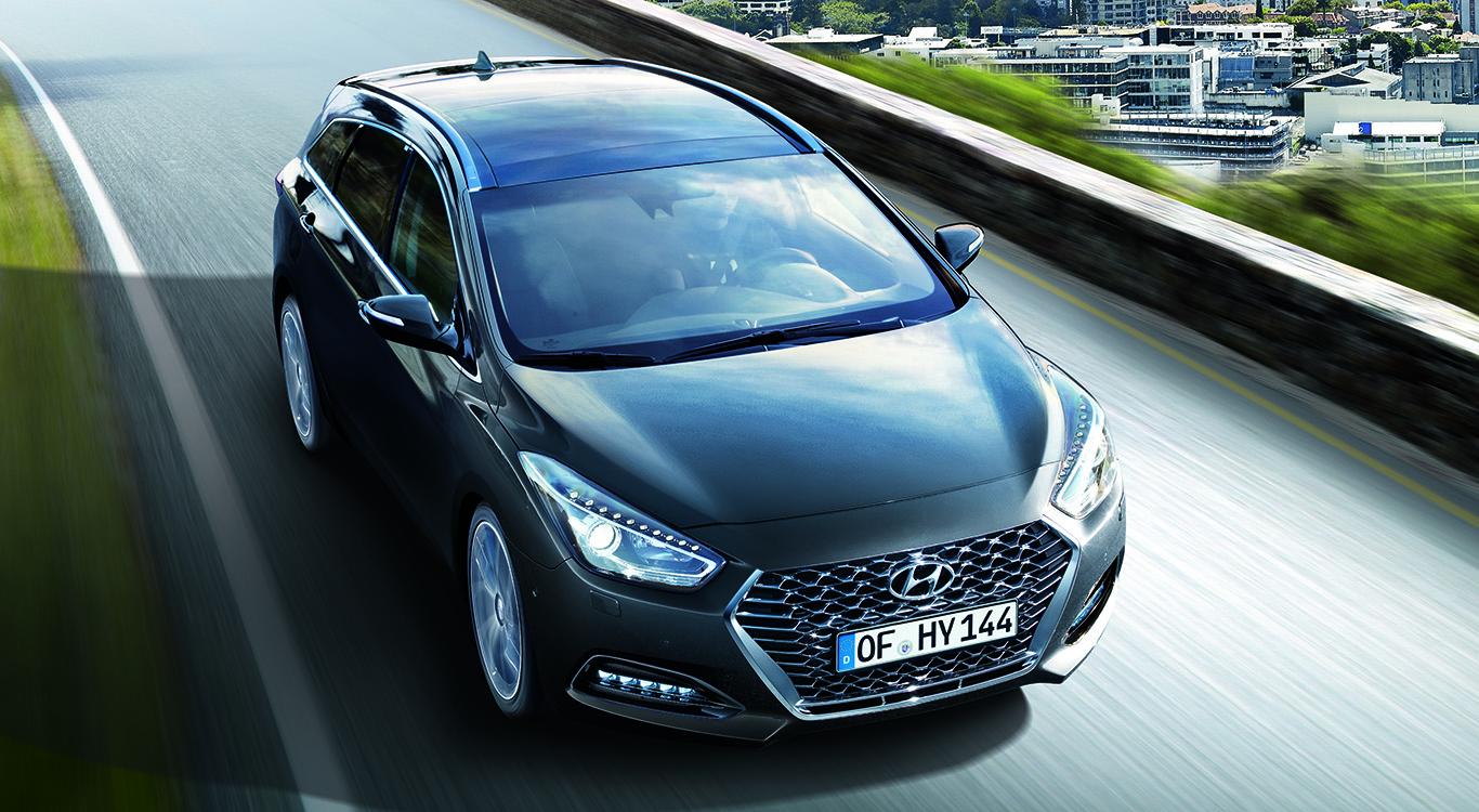 Mittelklasse-Kombi nach dem zweitem Facelift: Der Hyundai i40.