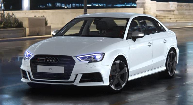 Der Audi S3 in Hochform. Die monatliche Leasing-Rate für diese Konfiguration beträgt unter 600 Euro.