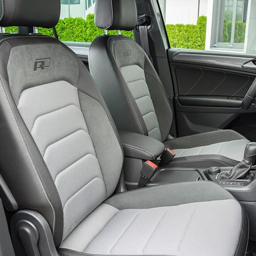 VW Tiguan, Innenansicht, Cockpit, Vordersitze