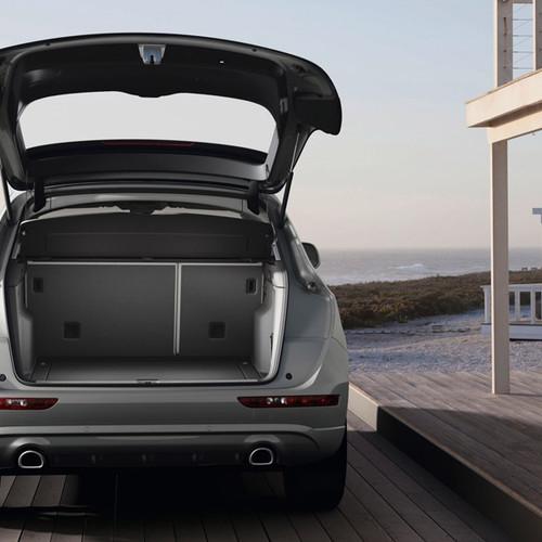 Der Kofferraum des Audi Q5