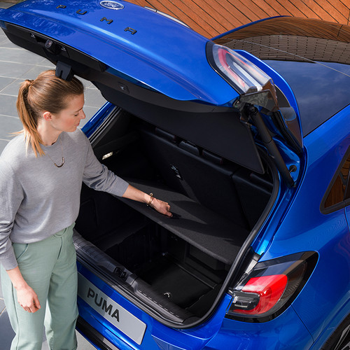 Ford Puma 2020, Kofferraum, offen