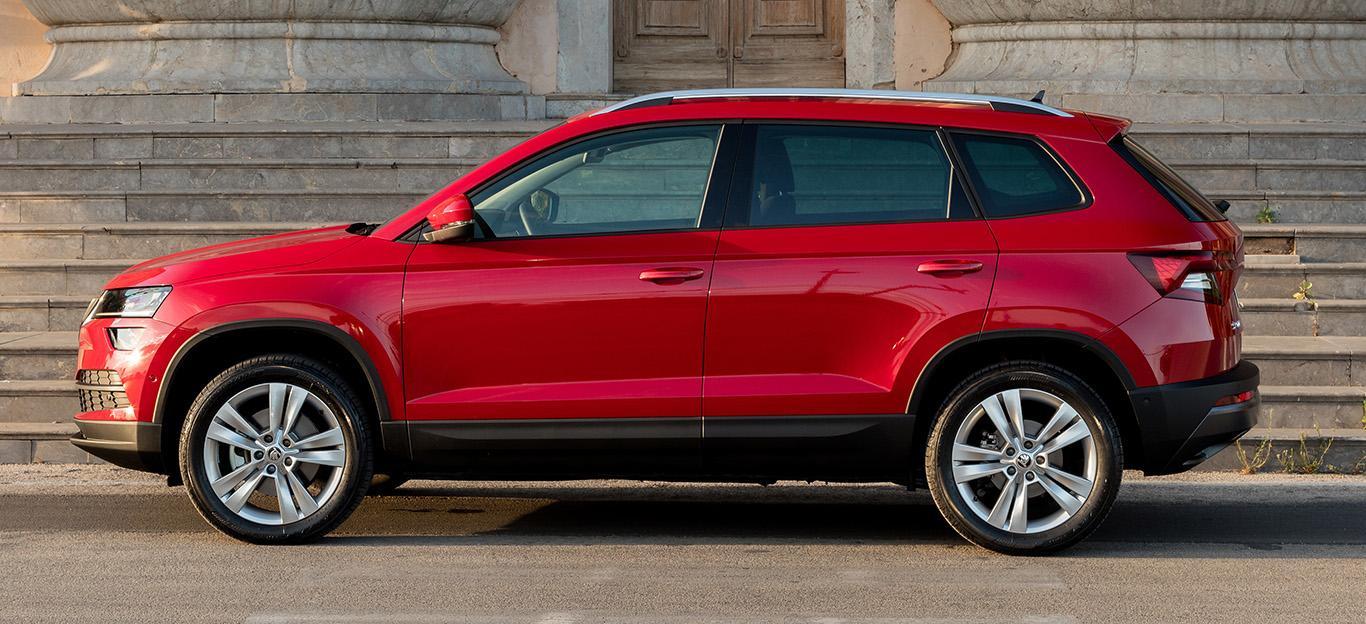 Der Skoda Karoq ähnelt dem VW Tiguan in so mancher Hinsicht.