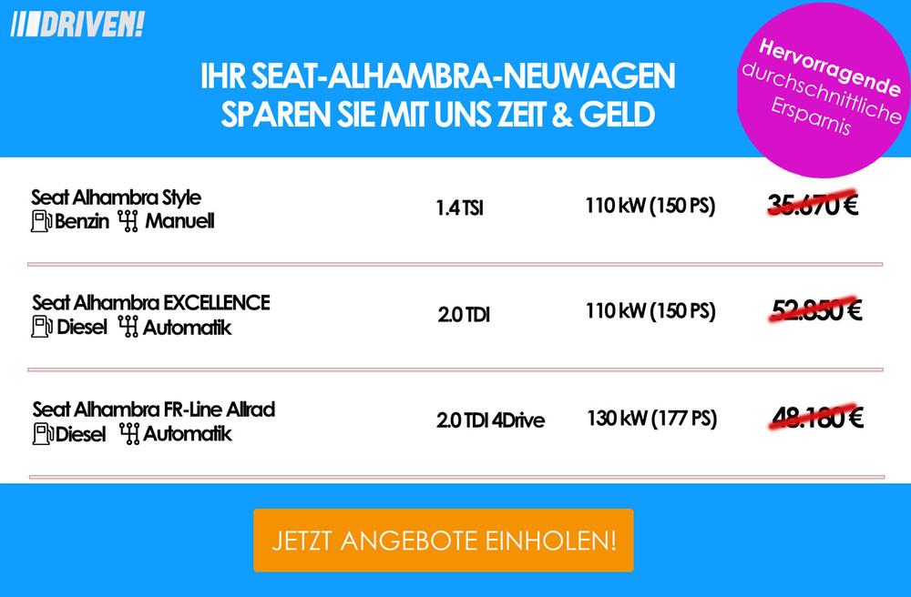 Werbung Seat Alhambra