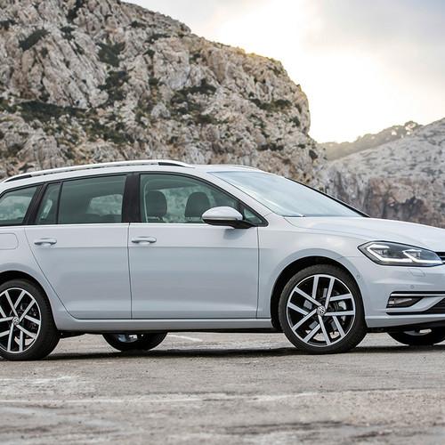 VW Golf 7 Variant, Facelift, Seitenansicht