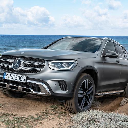 Mercedes GLC Facelift, Frontansicht