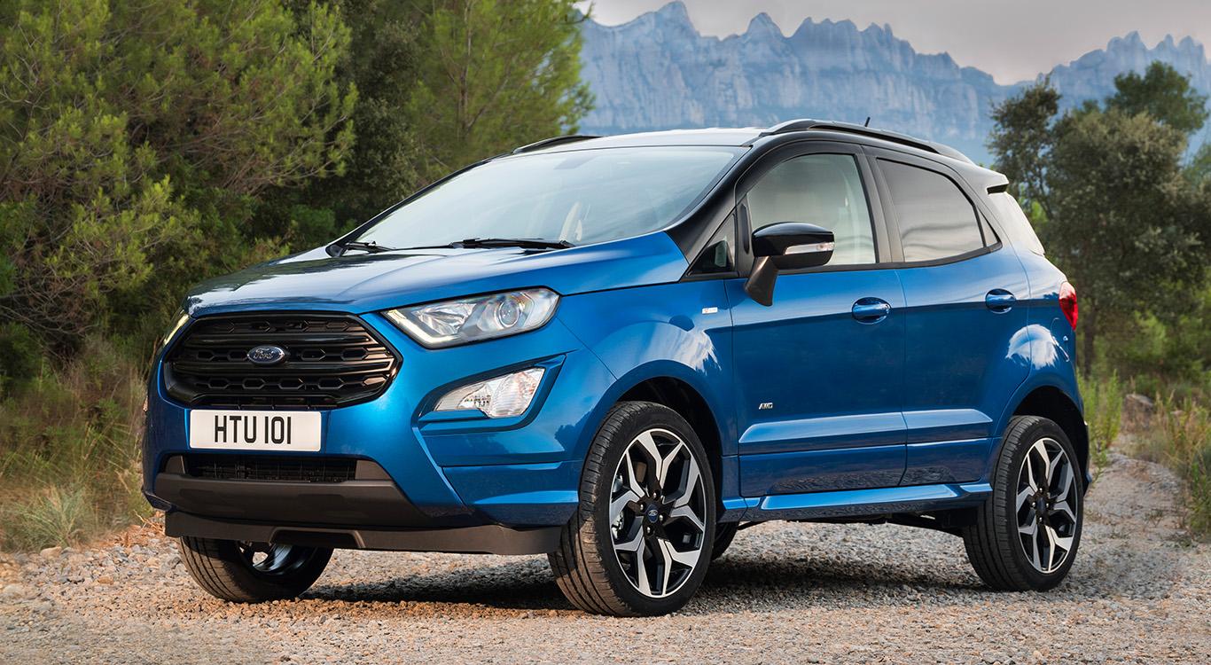 Im Hause Ford konnte anfangs lediglich der EcoSport (im Bild) die Vorgaben der Abgasnorm Euro 6d-TEMP einhalten. Mittlerweile trifft dies auch auf den beliebten Kuga zu.