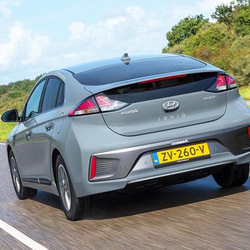Hyundai Ioniq Elektro 2019, Heckansicht