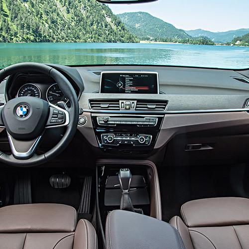 BMW X1, Innensicht Cockpit