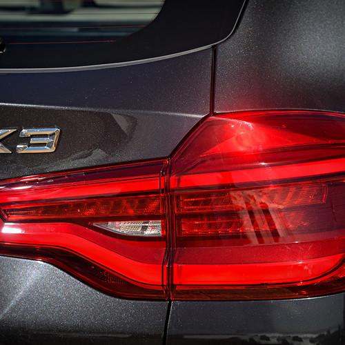 BMW X3 2018, Scheinwerfer, Heck