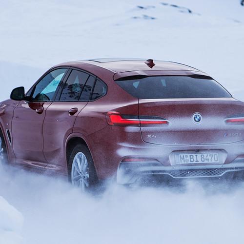 BMW X4 2018, M40d, Heckansicht