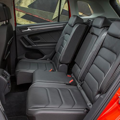 VW Tiguan, Fond-Ansicht